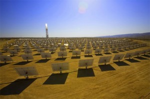 google brightsource solar power