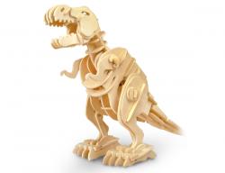 Дървен 3D конструктор - T-Rex - 85 части