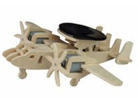 Дървен 3D конструктор – Хеликоптер P340