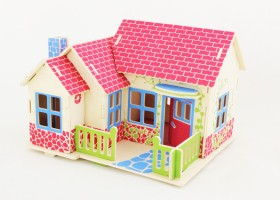 3D puzle Farm House